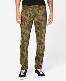 I.N.C. Men's Skinny-Fit Tapered-Leg Camouflage Jeans, Created for Macy's