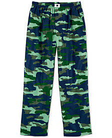 Carter's Big Boys Camouflage Fleece Pajama Pants