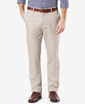 18ec83932a Dockers Mens  Signature Lux Cotton Straight Fit Stretch Khaki Pants