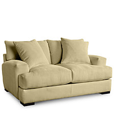 Rhyder 68'' Fabric Loveseat - Custom Colors, Created For Macy's