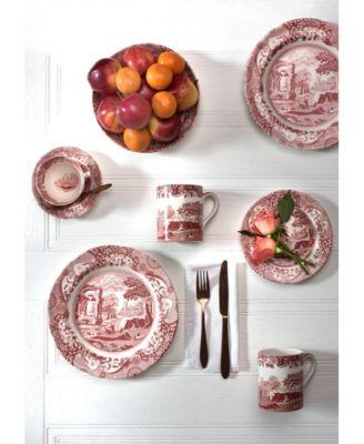 Cranberry ItalianTeaspoons, Set of 6