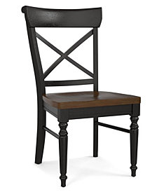 Custom Dining X-Back Side Chair