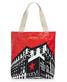 Frontal Building Tote Bag