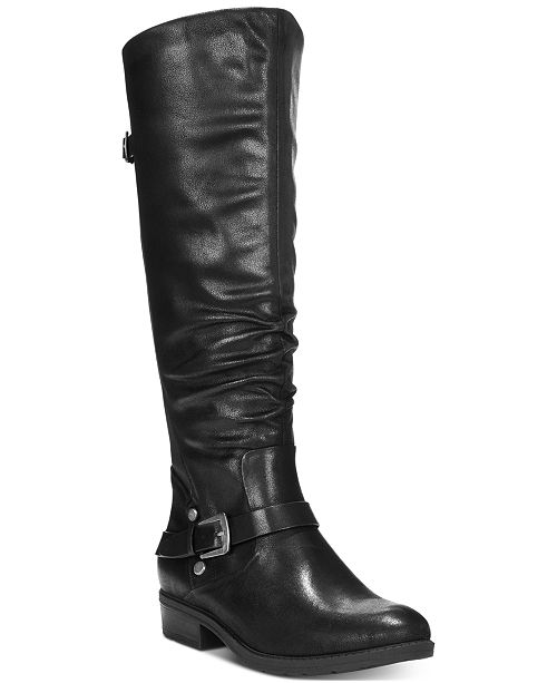 Baretraps Yanessa Wide Calf Riding Boots Boots Shoes Macy S