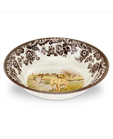 Spode Woodland Yellow Lab Cereal