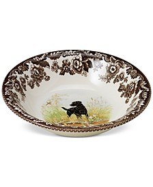 Woodland Black Lab Cereal Bowl