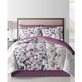 Fairfield Square Collection Monica 8-Piece Full Comforter Set