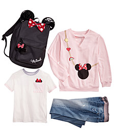 Disney, Minnie Mouse & Imperial Star Little & Big Girls Minnie Mouse Collection