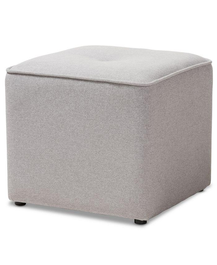 Furniture - Corinne Ottoman, Quick Ship