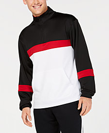 ID Ideology Men's Colorblocked Half-Zip Jacket, Created for Macy's