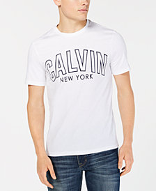 Calvin Klein Jeans Men's Calvin Outlined Logo Graphic T-Shirt