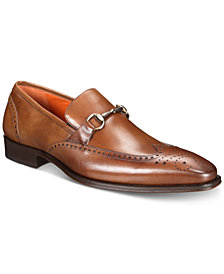 Mezlan Men's Horse Bit Wingtip Loafers