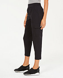 Ideology Woven Cropped Pants, Created for Macy's