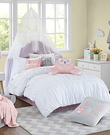 Verona Comforter Mini Set Full/Queen, Created for Macy's