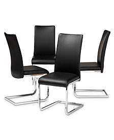 Cyprien Dining Chair (Set Of 4), Quick Ship