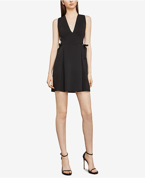 Bcbgmaxazria Kalie Lace Up Dress Bcbgmaxazria Women Macys