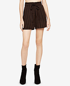 BCBGeneration Pleated Paperbag Shorts