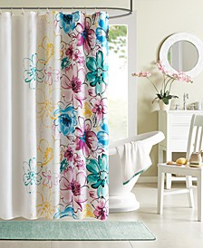 "Intelligent Design Olivia 72"" x 72"" Shower Curtain"