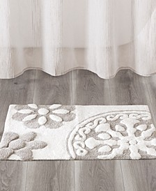 Casablanca Medallion Cotton Tufted Bath Rugs