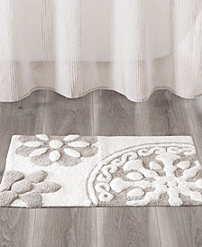 Madison Park Casablanca Medallion Cotton Tufted Bath Rugs