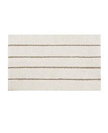 "Madison Park Adrien 24"" x 40"" Cotton Tufted Stripe Rug"