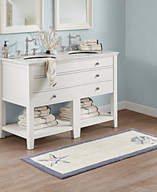 "Madison Park Bayside 24"" x 60"" Cotton Tufted Runner"