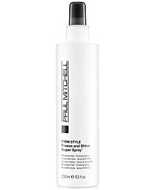 Freeze & Shine Super Spray, 8.5-oz., from PUREBEAUTY Salon & Spa