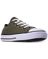 a66e16ceb31d Converse Little Boys  Chuck Taylor Ox Casual Sneakers from Finish Line
