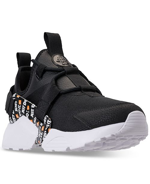 9730427dbe1 ... Nike Women s Air Huarache City Low Premium Just Do It Casual Sneakers  from Finish Line ...