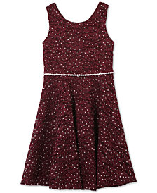 Speechless Big Girls Plus Glitter Lace Dress