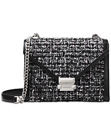 MICHAEL Michael Kors Whitney Tweed Shoulder Bag