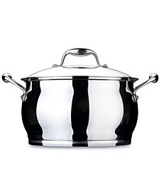 BergHoff Zeno 7-qt Stainless Steel  Covered Stockpot