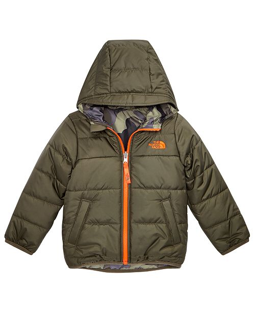 5909f21cc The North Face Toddler Boys Hooded Reversible Perrito Jacket ...