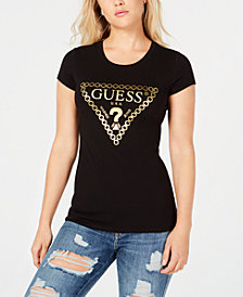 GUESS Chain Logo T-Shirt