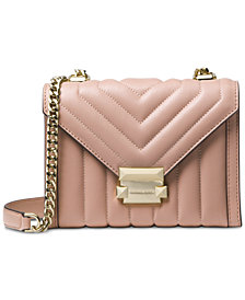 MICHAEL Michael Kors Whitney Mini Quilted Shoulder Bag
