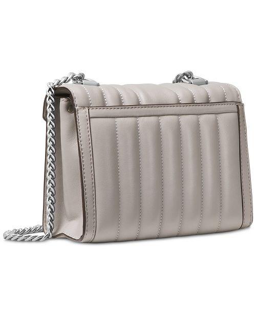0c408d79b11f Michael Kors Whitney Mini Quilted Leather Shoulder Bag - Handbags ...