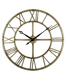 Samson Metal Wall Clock