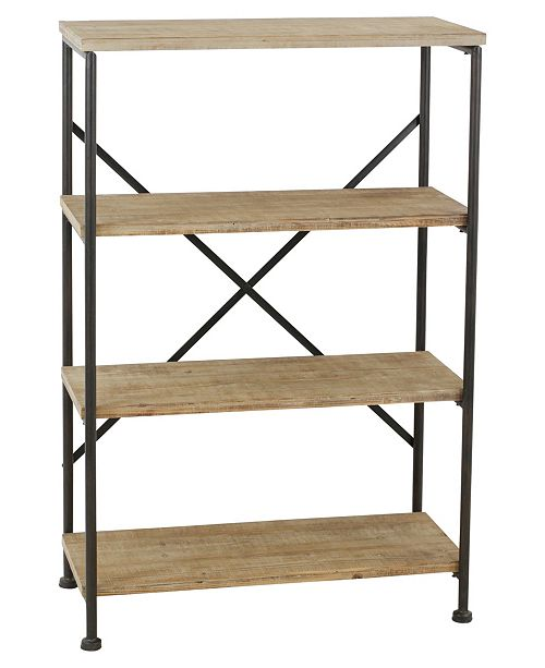 Aspire Home Accents Kason 4-Shelf Industrial Rack