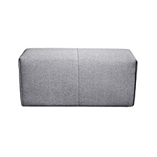 Nathaniel Arm Light Gray Sectional Piece