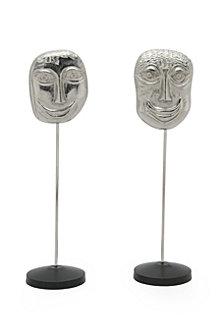 Primitive Masks Nickel Set Of 2