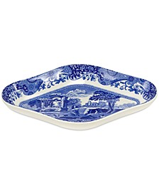 Dinnerware, Blue Italian Pickle Dishes, Set of 2