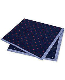 Tommy Hilfiger Men's Conversational Star Pocket Square