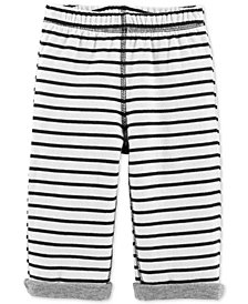 Carter's Baby Boys & Girls Striped Reversible Pants