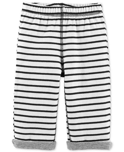 Carter's Baby Boys & Girls Striped Reversible Pants