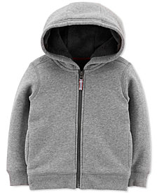 Carter's Baby Boys Fuzzy-Lined Zip-Up Hoodie
