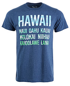 Men's Hawaii Islands Graphic T-Shirt