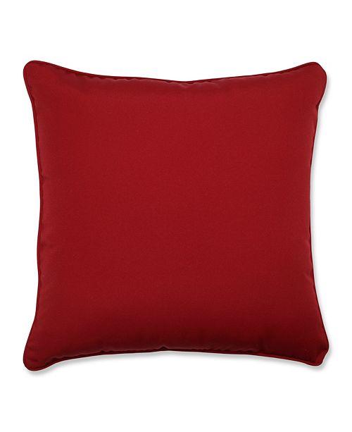"""Pillow Perfect Pompeii Red 18.5"""" Throw Pillow, Set of 2"""