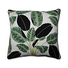 """Hojas Cubanas Rainforest 25"""" Floor Pillow"""