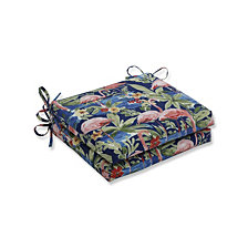 Flamingoing Lagoon Squared Corners Seat Cushion, Set of 2