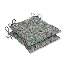 Pretty Witty Reef Wrought Iron Seat Cushion, Set of 2